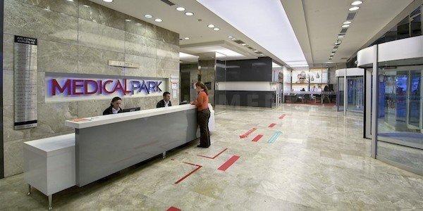 Medical Park Bahçelievler Hospital Patient Reception