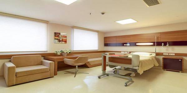 Medical Park Tokat Hospital Patien room